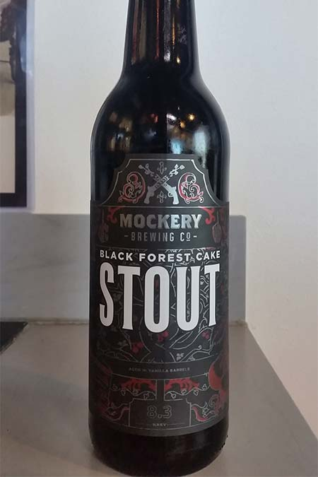 Black Forest Cake Stout Bottle