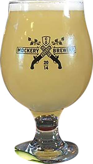 Pmegranate and Cucumber Berliner Weisse | Mockery Brewing
