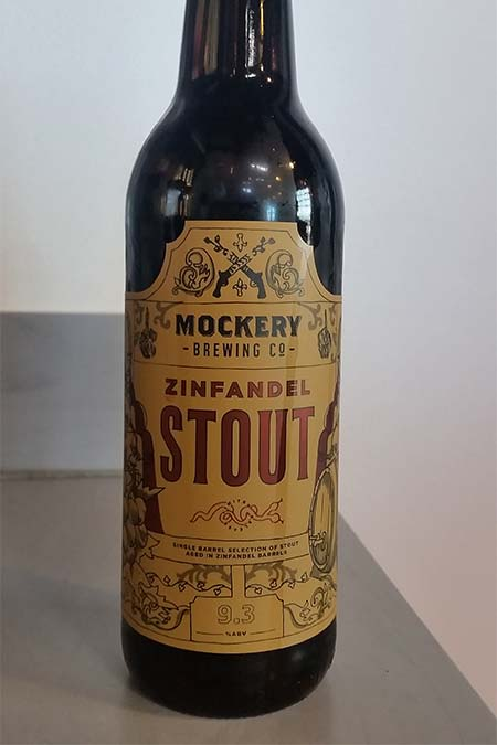 Zinfandel Stout Bottle
